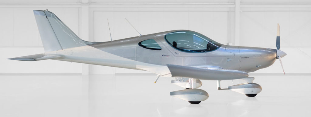 UL BRM Aero Bristell - silber/white
