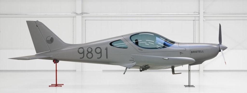 "Microlight Bristell - Design ""Air force grey"""